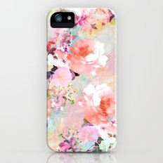 Love of a Flower Slim Case iPhone (5, 5s)