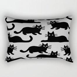 Black Cat(s) Rectangular Pillow
