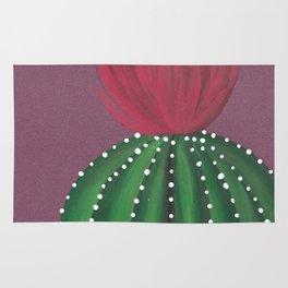 Flowering Cactus Rug
