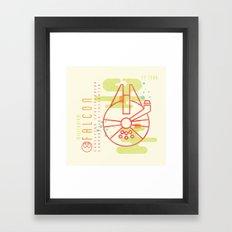 MNML: YT-1300 Framed Art Print