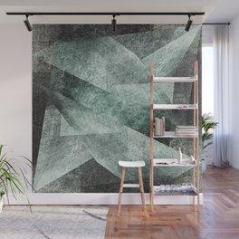 green gray shades Wall Mural