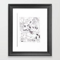 BZZ PLEaze Framed Art Print