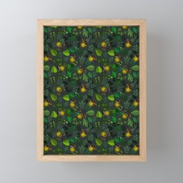 Fireflies Framed Mini Art Print