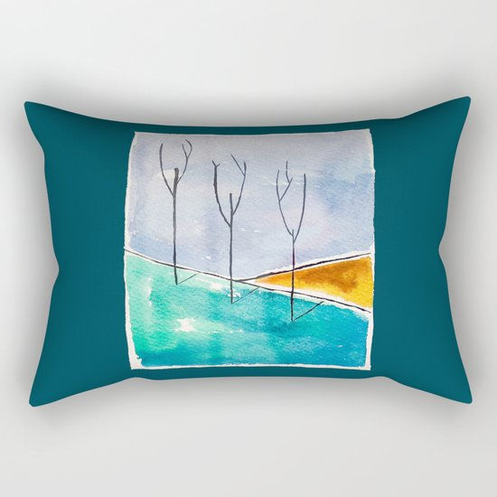 Only the Trees Rectangular Pillow