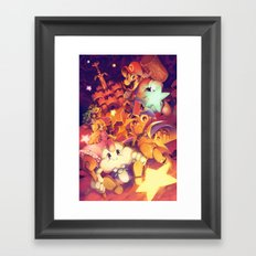 Super Mario RPG Framed Art Print