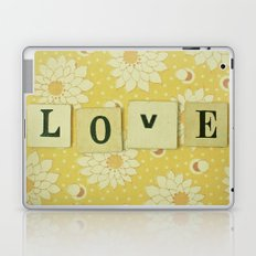 Love No.4 Laptop & iPad Skin