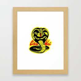 COBRA KAI Framed Art Print