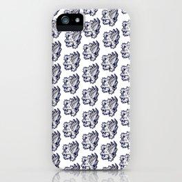 Grey Warden Griffin Pattern iPhone Case