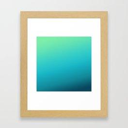 husky gradient Framed Art Print