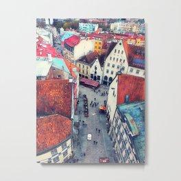 Tallinn art 6 #tallinn #city Metal Print