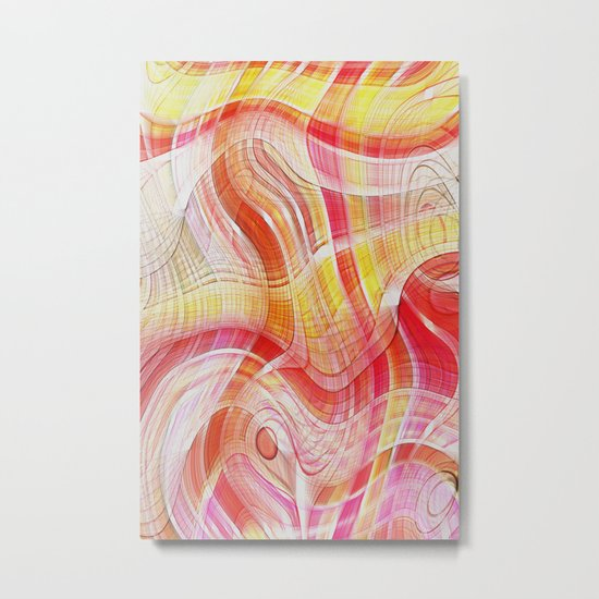 Acid Metal Print