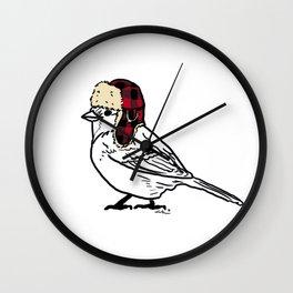 W I N T E R   B I R D  Wall Clock