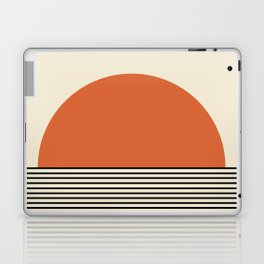 Sunrise / Sunset - Orange & Black Laptop & iPad Skin