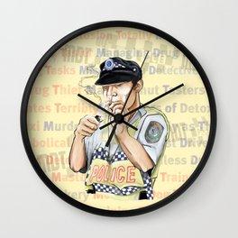 MDT Wall Clock