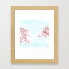 A day for cherry blossom | Miharu Shirahata Framed Art Print