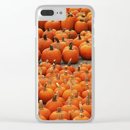 More than a peck of pumpkins at Peck's Produce Farm Market! Clear iPhone Case