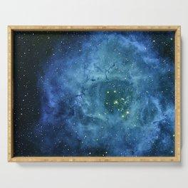Nebula and stars Serving Tray
