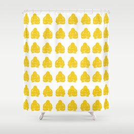 Jonquil Asian Moods Buddha Boys Shower Curtain