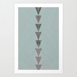 dusty arrows cool Art Print
