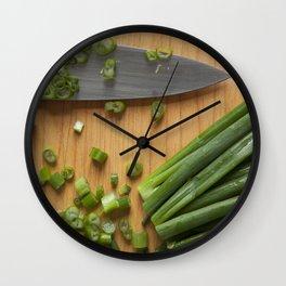 CHOP CHOP Wall Clock