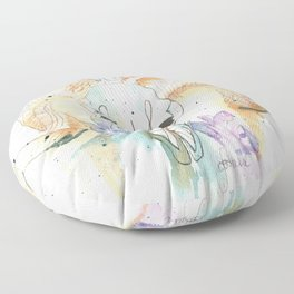 Ram Skull Floor Pillow