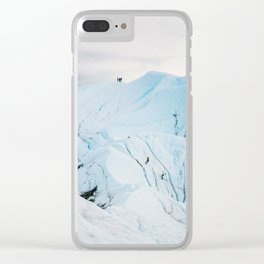 Lighting the Ice Peak Clear iPhone Case