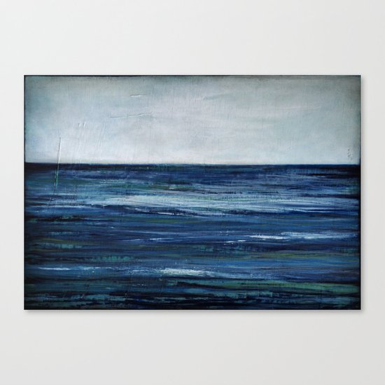 abstract seascape Canvas Print