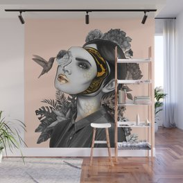 Behind the mask Wall Mural
