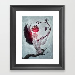 LOVEBORN Framed Art Print