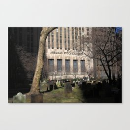 Spooky New York 2013 Canvas Print
