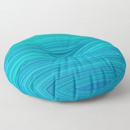 turquoise Floor Pillow