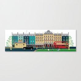 London Clapham Common in Summer Canvas Print