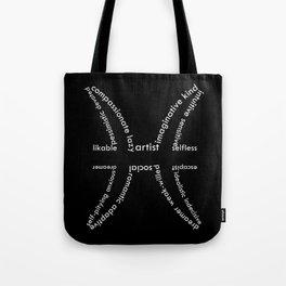 Invert pisces Tote Bag
