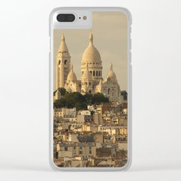 Sacre Coeur Clear iPhone Case