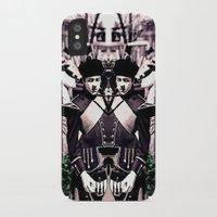 drum iPhone & iPod Cases featuring Fife & Drum by Ricochet  Elm  Studio
