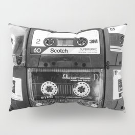 Something Nostalgic - black and white #decor #buyart #society6 Pillow Sham