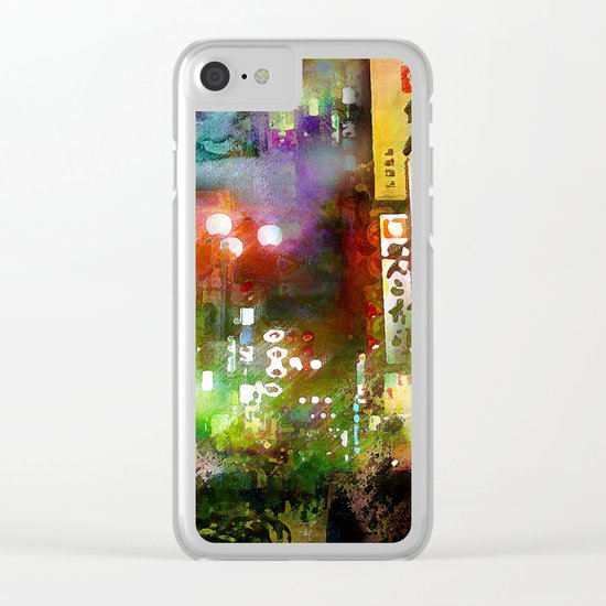 Just one street Clear iPhone Case