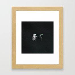 oops Framed Art Print