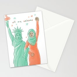 All Are Welcome Stationery Cards