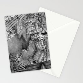 Within ancient ruins Stationery Cards