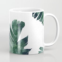 Banana Leaf Watercolor #society6 #buy #decor Coffee Mug