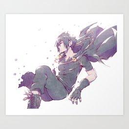 FFXV - Sleeping Prince Art Print