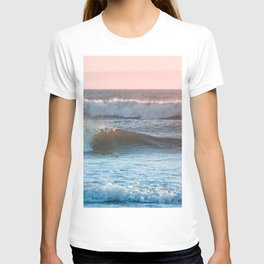 Beach Adventure Summer Waves at Sunset T-shirt