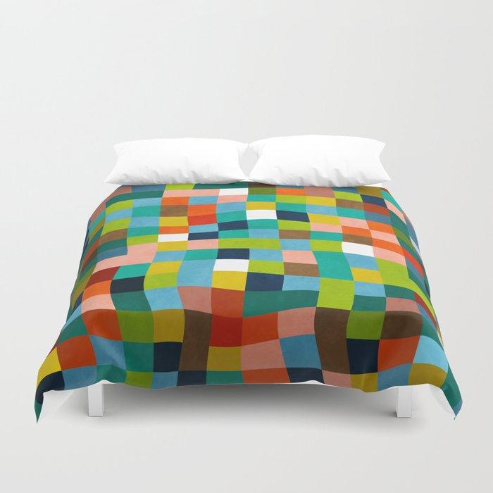 klee color study 1 Duvet Cover