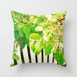 New Start Photography Throw Pillow