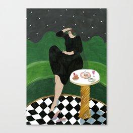 India Mahdavi for Ladurée Quai des Bergues Canvas Print