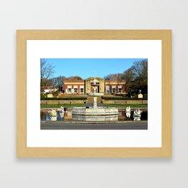 Blackpools Stanley Park Cafe Framed Art Print