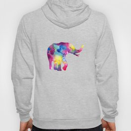 Abstract Elephant Hoody