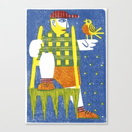 Broadfork Canvas Print