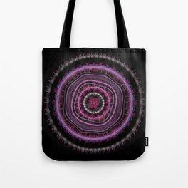Colorful Magic Color Mandala Tote Bag
